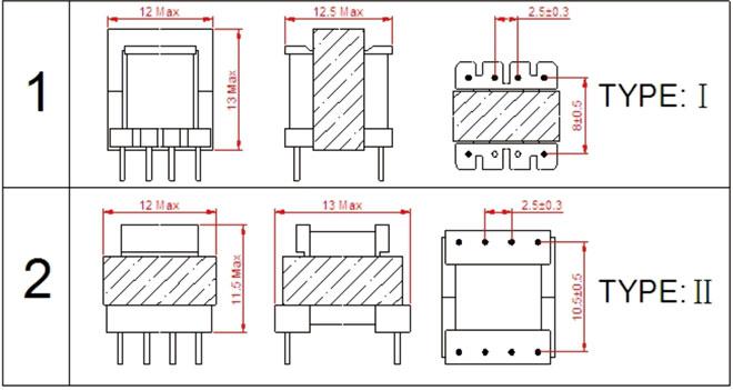 ee10高频变压器|电子变压器 厂家直销 |电源开关变压器|质量可靠
