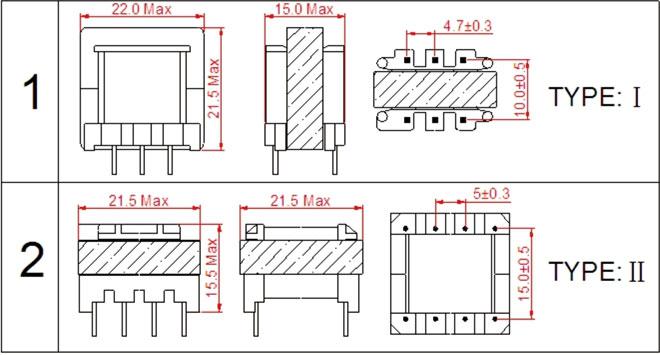 首页 产品中心 高频变压器/开关电源变压器 ef型高频变压器系列 ef20